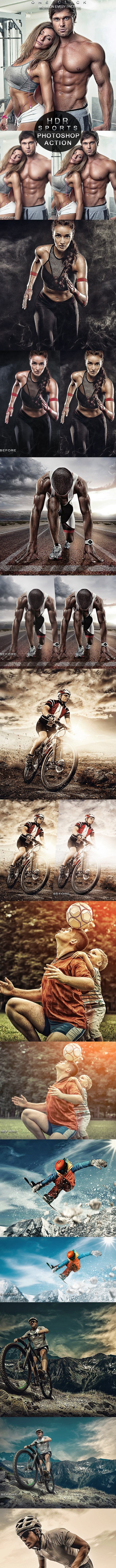 PRO Sports Photoshop Action - Actions Photoshop