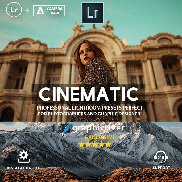 Cinematic Presets Lightroom Collection