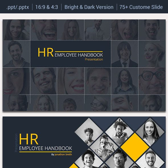 HR Employee Handbook Presentation