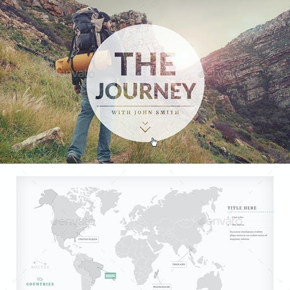 Interactive PDF Journey Presentation