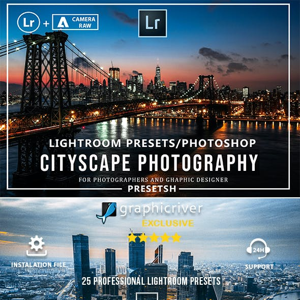 Cityscape Photography Lightroom Presets