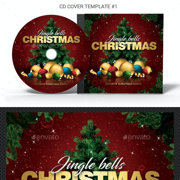 Christmas Bells CD DVD Covers Bundle
