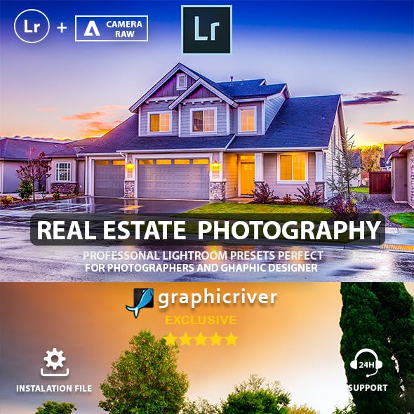 HDR Real Estate Lightroom Presets