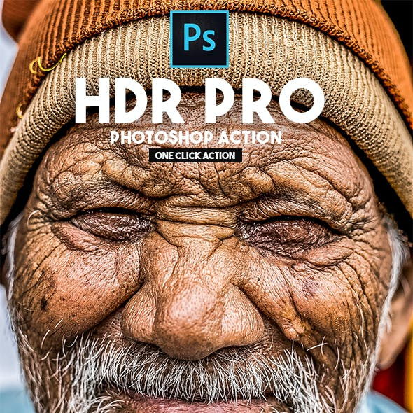 HDR PRO - Photoshop Action
