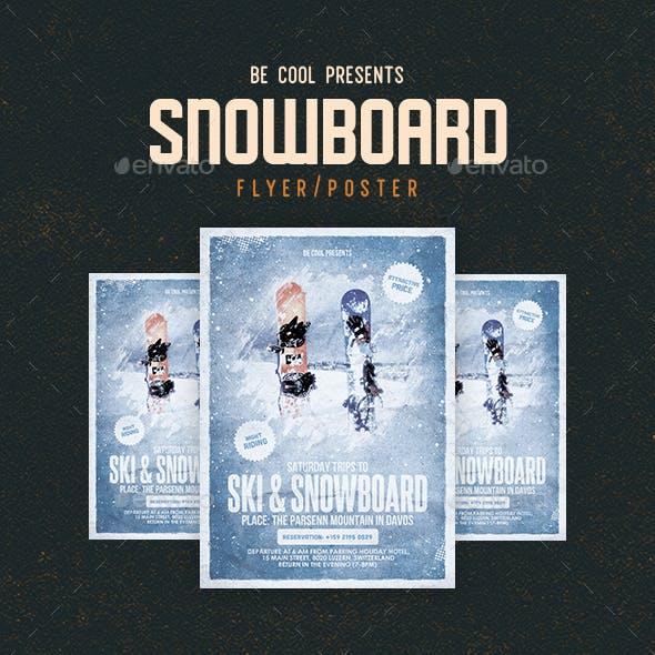 Ski & Snowboard Flyer/Poster