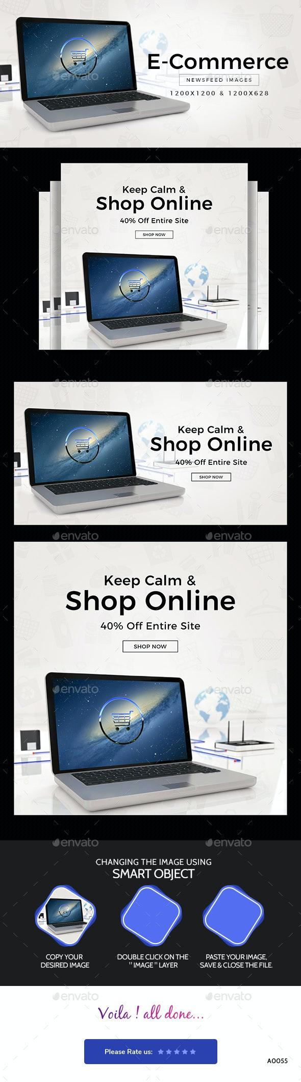 E-Commerce Social Media Templates - Miscellaneous Social Media