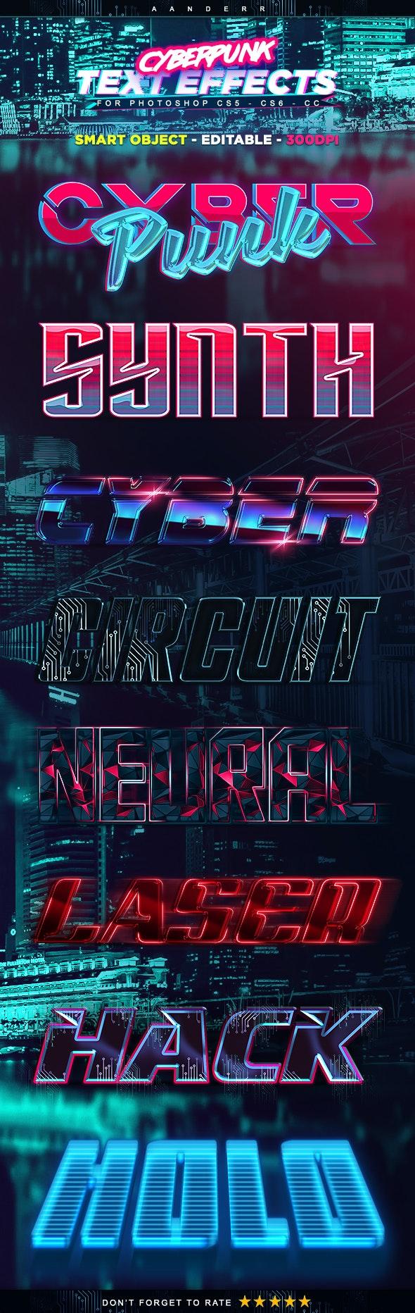 Cyberpunk Text Effects - Text Effects Styles
