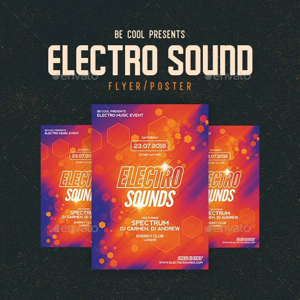 Electro Flyer/Poster