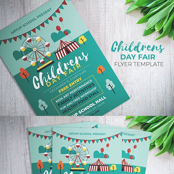 Children Day Fair Flyer