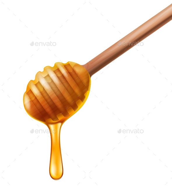 Honey Dipper - Food Objects