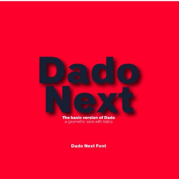 Dado Next Sans Font