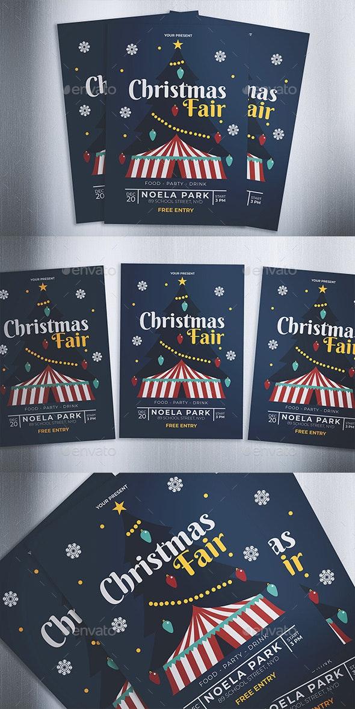 Christmas Fair Flyer - Events Flyers