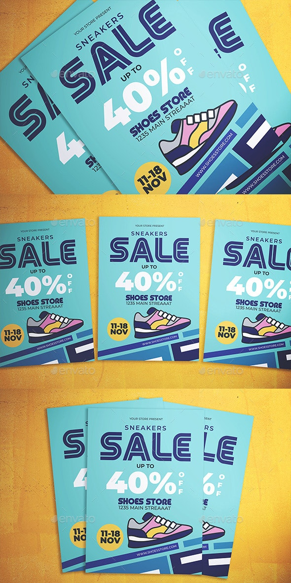 Shoes Sale Flyer - Events Flyers