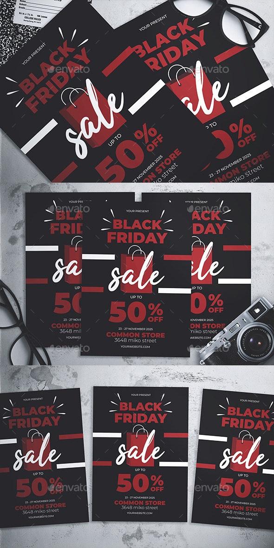 Black Friday Flyer - Events Flyers
