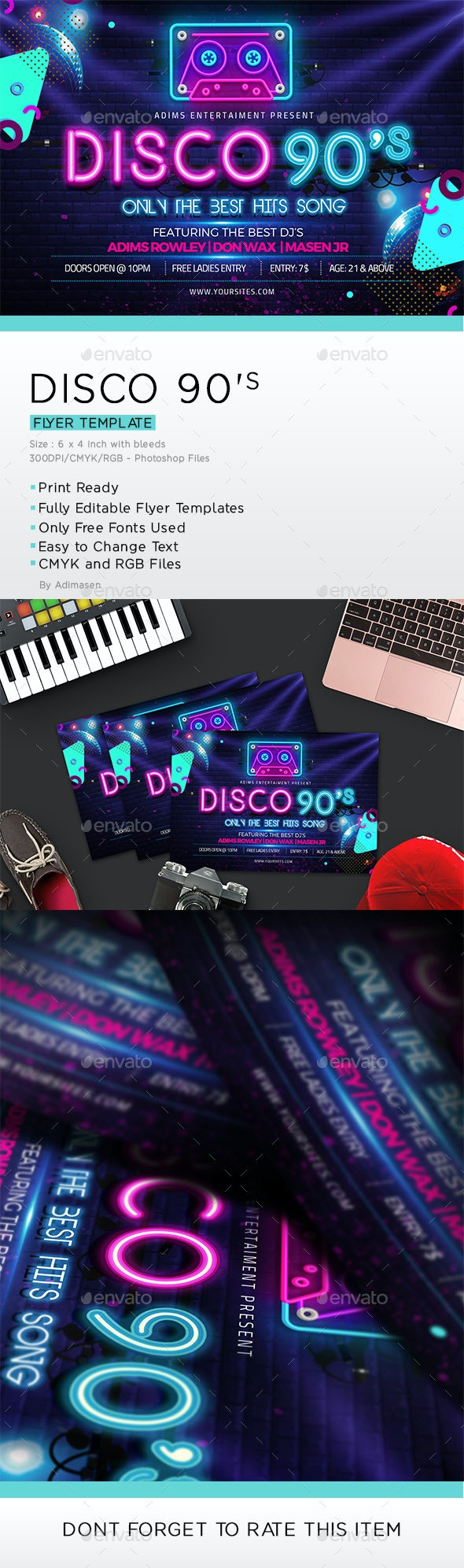 Disco 90's - Clubs & Parties Events