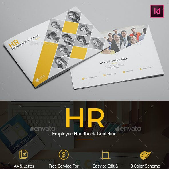 HR - Employee Handbook Guideline Template