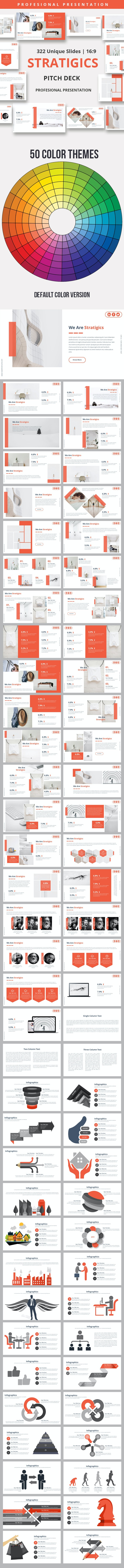 Stratigics Premium Powerpoint Presentation Template - Business PowerPoint Templates