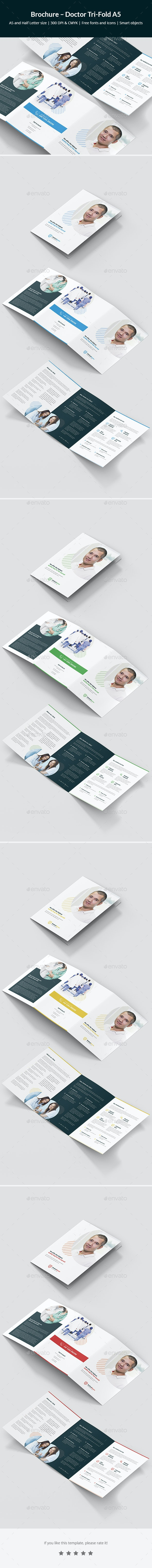 Brochure – Doctor Tri-Fold A5 - Corporate Brochures