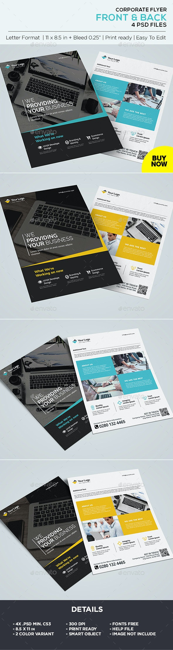 Corporate Flyer / Business Flyer Template - Corporate Flyers