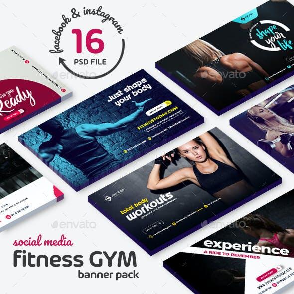 Fitness Banner Pack