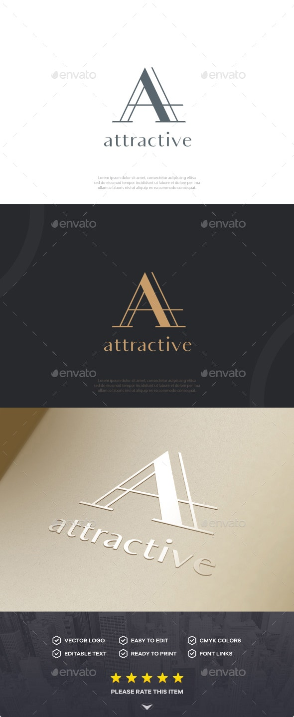 Letter A Logo - Logo Templates