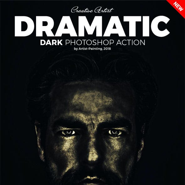 Dramatic Dark Photoshop Action