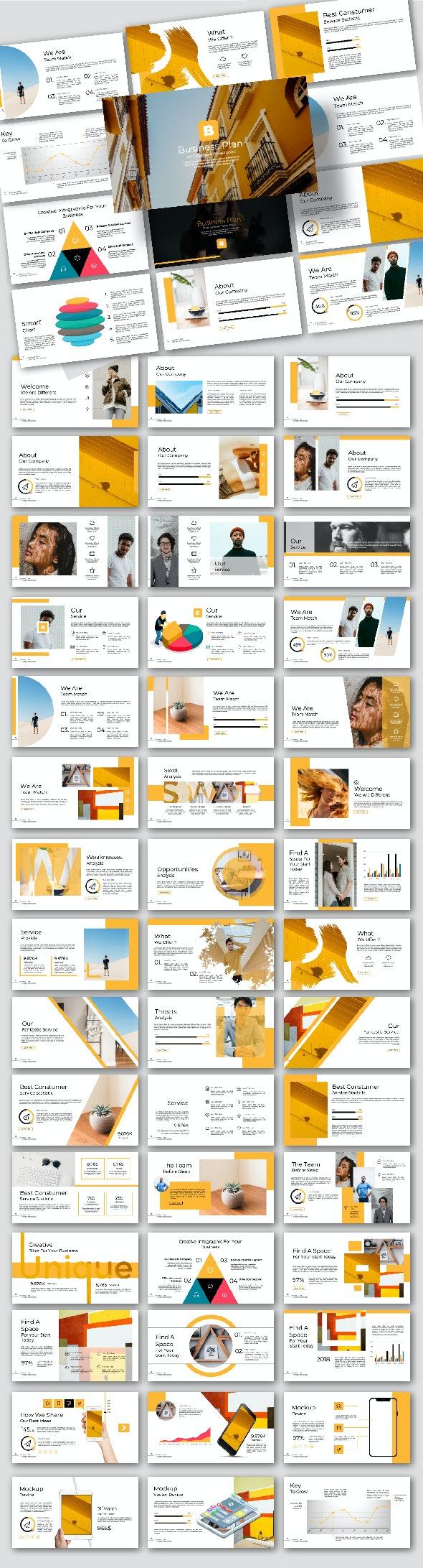 Business Plan Google Slide - Google Slides Presentation Templates