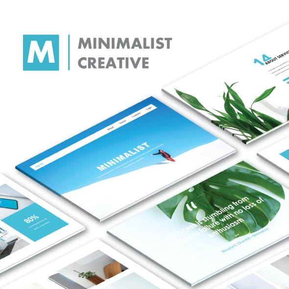 Minimalist Creative PowerPoint Templates