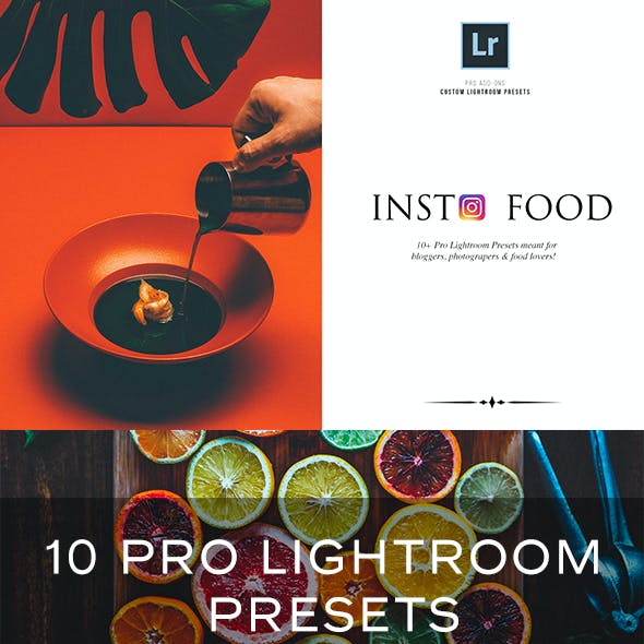 Insta Food Lightroom Presets