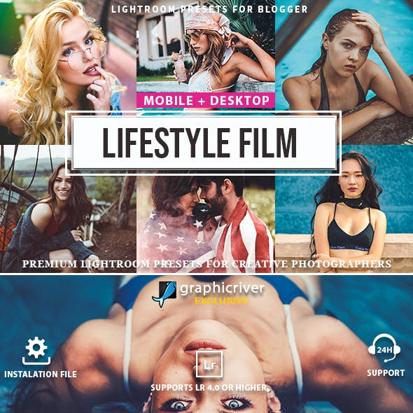 Lifestyle Film Lightroom Presets