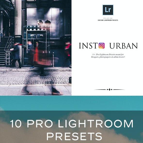 Insta Urban Lightroom Presets