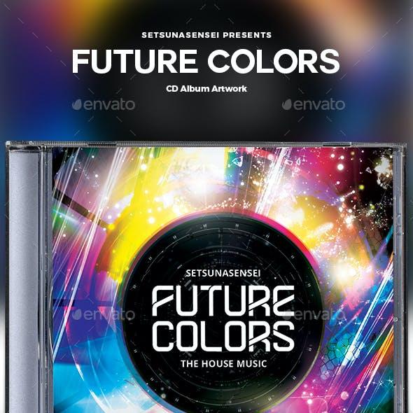 Future Colors CD Album Artwork