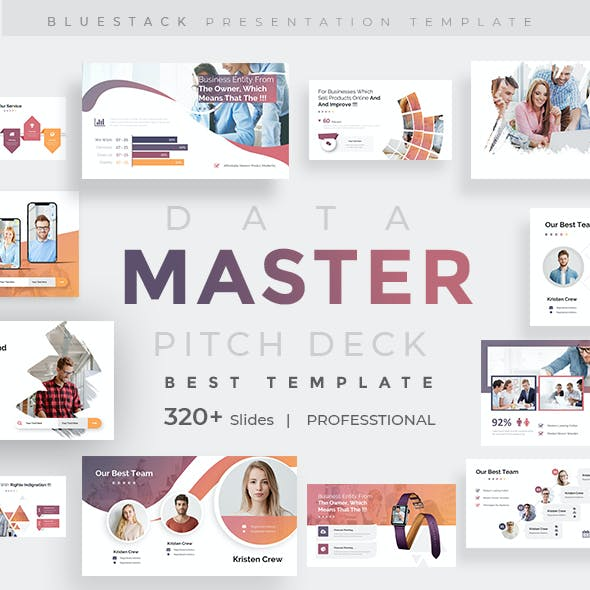 Master Data Pitch Deck Powerpoint Template