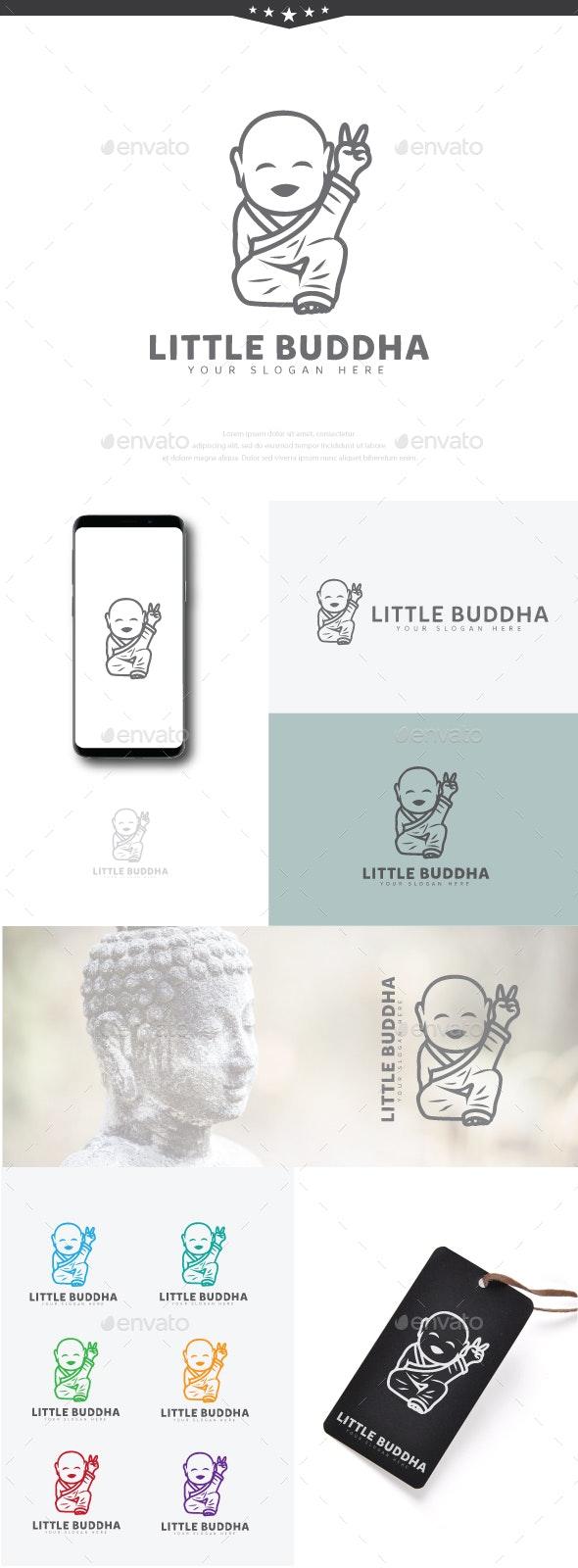 Little Buddha - Humans Logo Templates