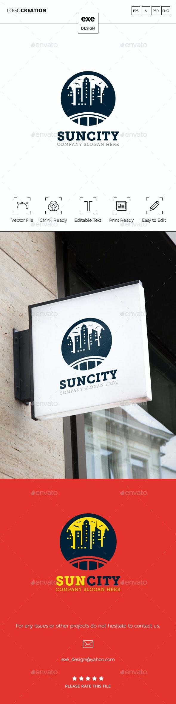 City Logo - Buildings Logo Templates