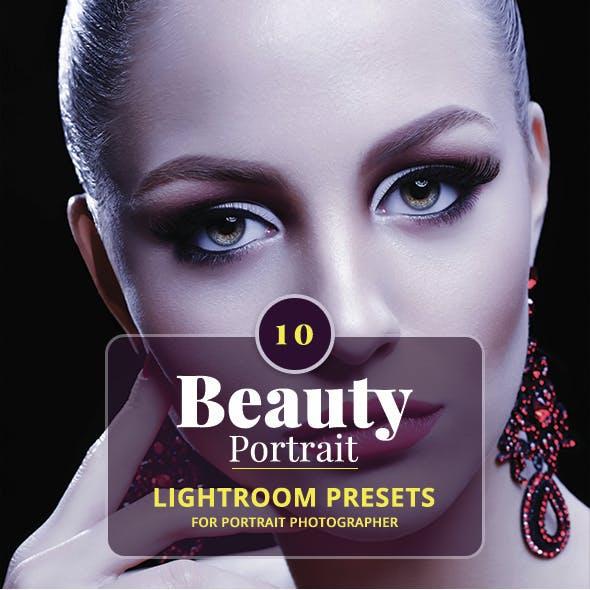 10 Beauty Portrait Lightroom Presets