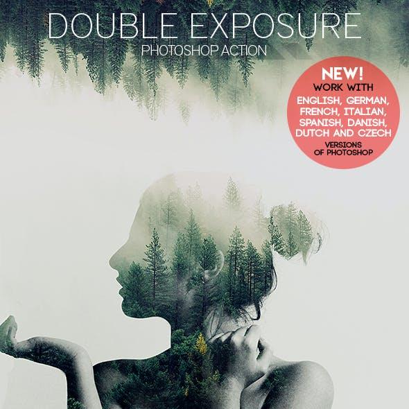 Double Exposure Effect Photoshop Action