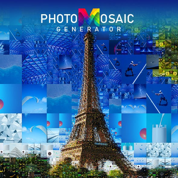 PhotoMosaic Generator - Photoshop Extension by Artorius