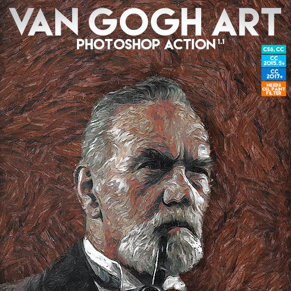 Van Gogh Art Photoshop Action