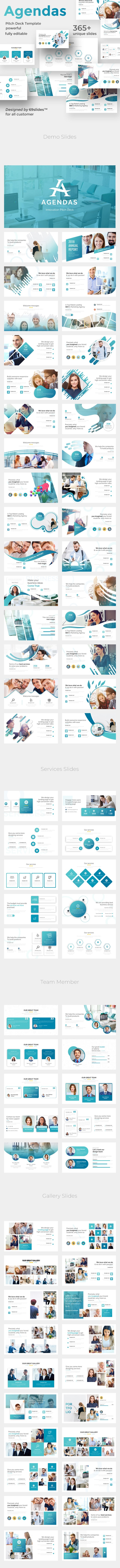 Innovation Agendas Pitch Deck Keynote Template - Miscellaneous Keynote Templates