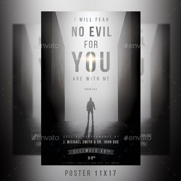 I Will Fear No Evil Poster
