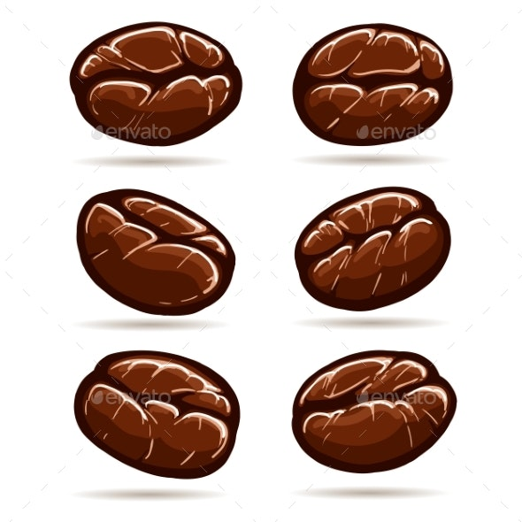 Coffee Beans Set - Food Objects