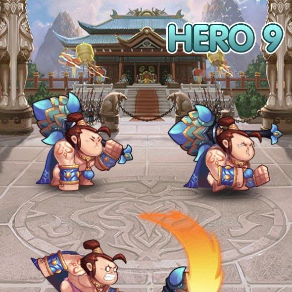Hero 9 Sprite Set