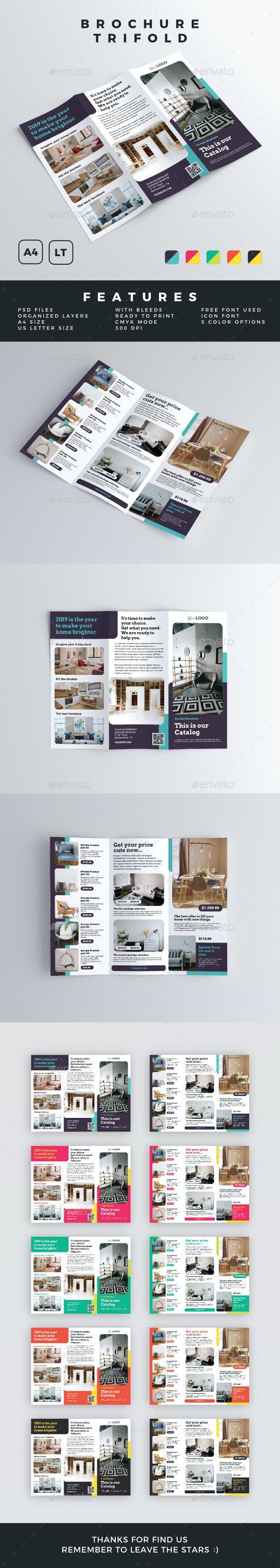 Brochure - Trifold - Catalogs Brochures