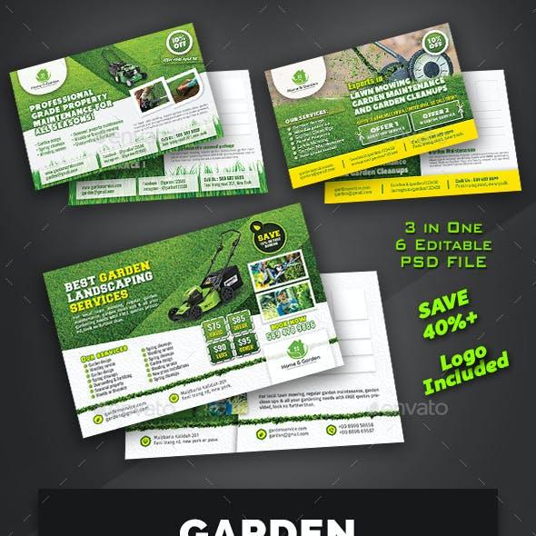 Garden Postcard Bundle