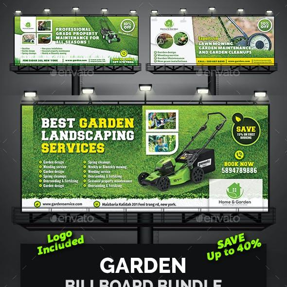 Garden Billboard Bundle