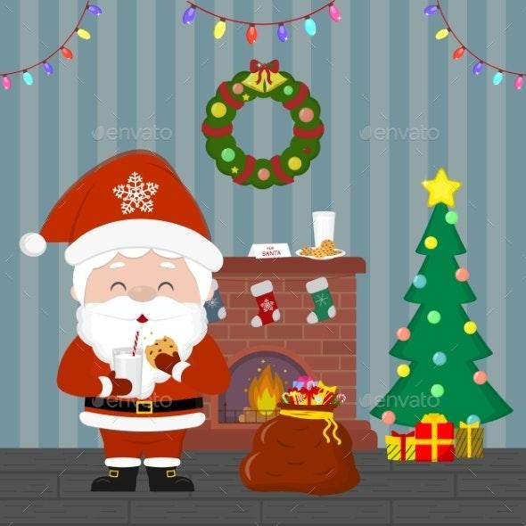 New Year and Christmas Card - Christmas Seasons/Holidays