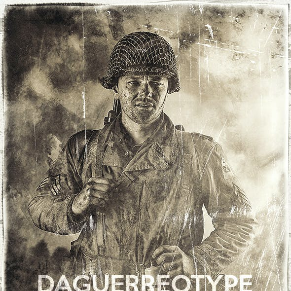 Daguerreotype Photo - Photoshop Action