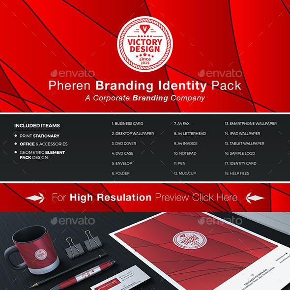 Pheren Branding Stationary Identity