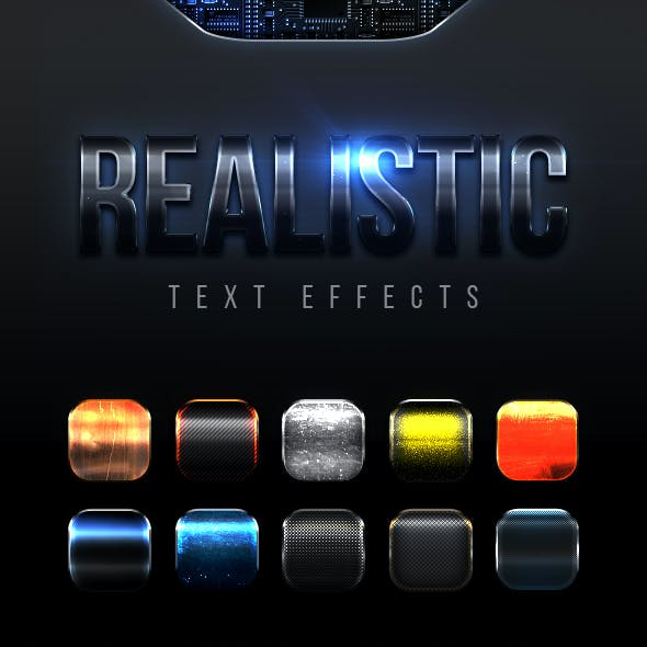 Realistic Text Effects Vol.8
